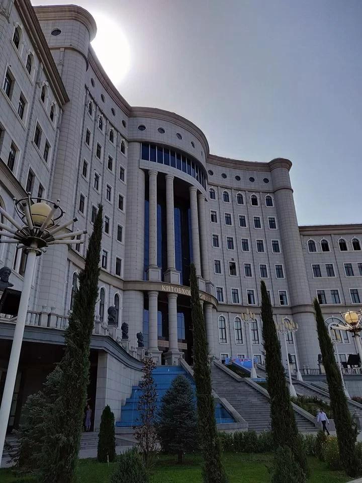 La libreria nazionale di Dushanbe