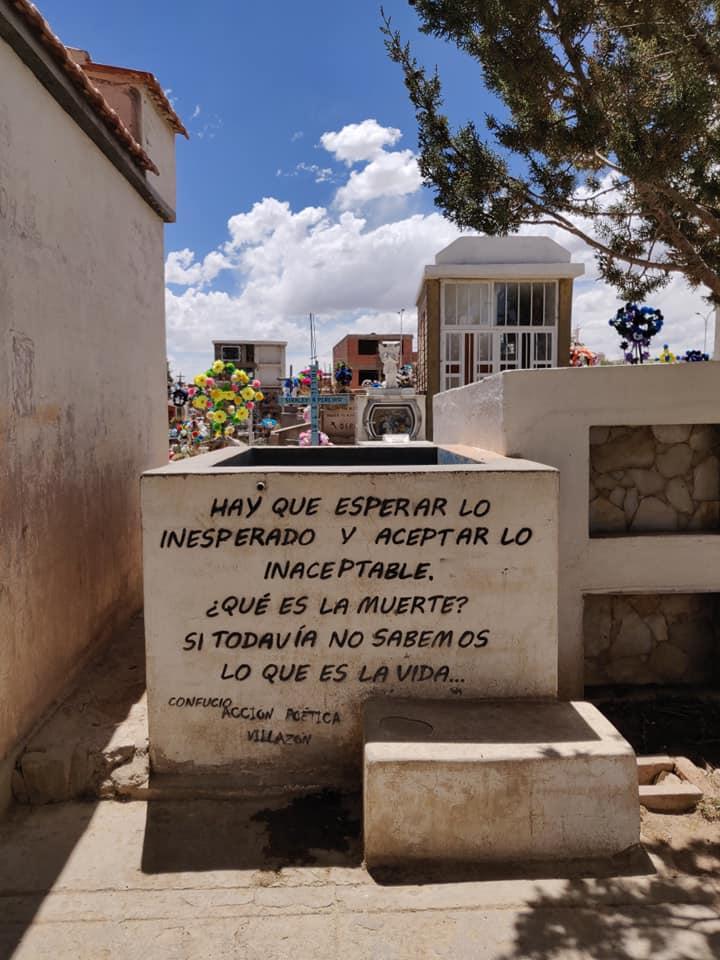 il cimitero di Villazon in Bolivia
