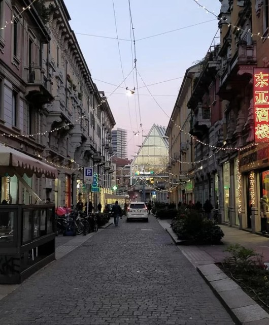 Via Paolo Sarpi a Milano
