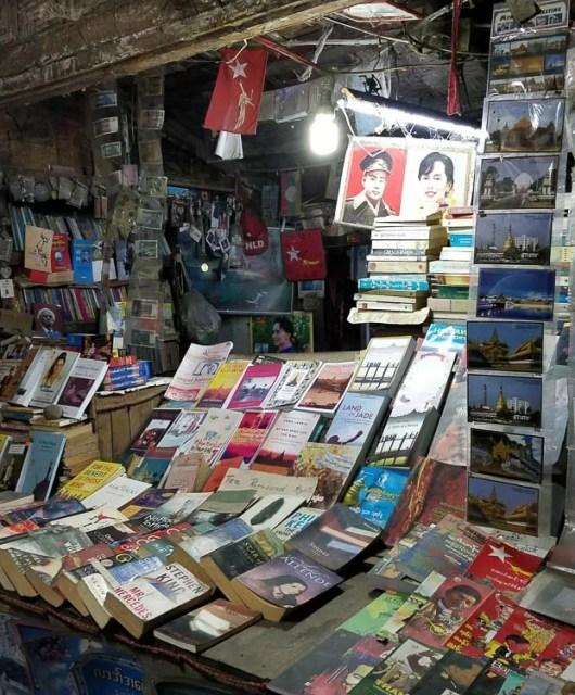 Libri per un viaggio in Myanmar