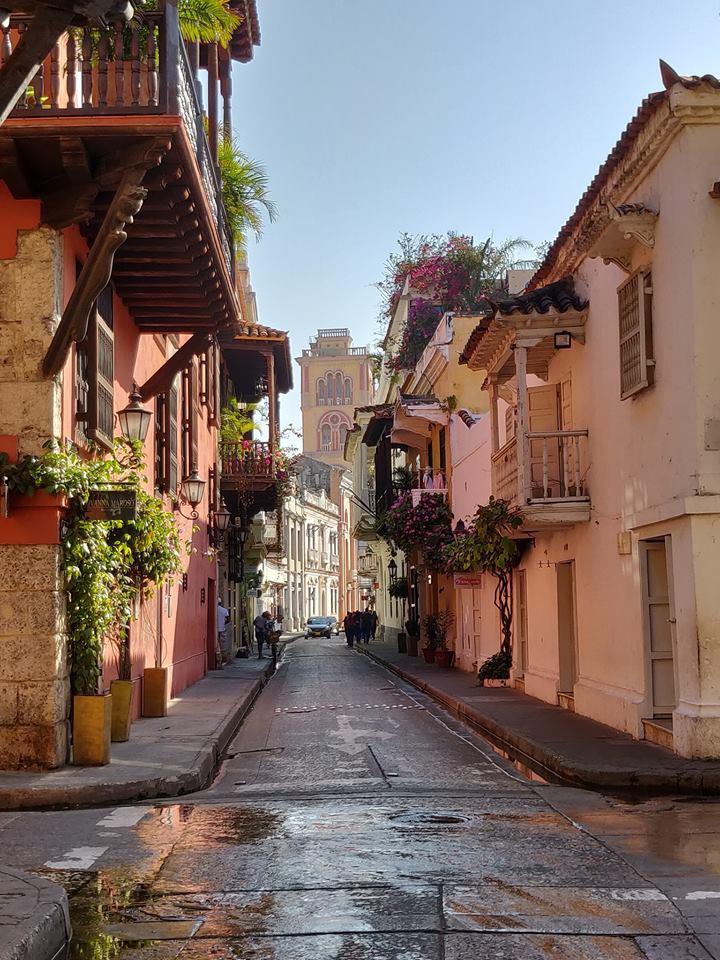 Vie del centro storico di Cartagena
