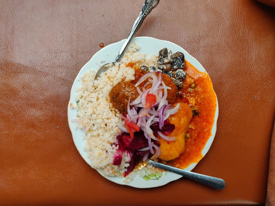 i piatti del mercato di Uyuni a Potosi in Bolivia
