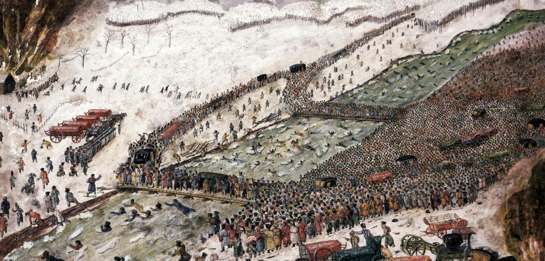 Beresina di Sylvain Tesson, la ritirata dei francesi