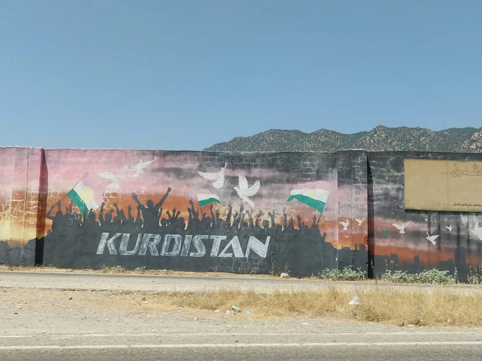 murales in Kurdistan