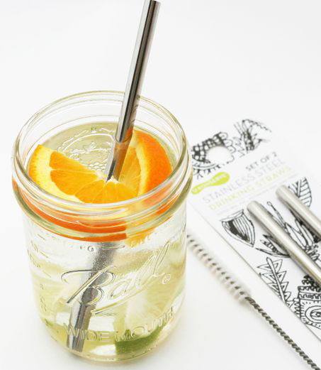 INSTA Stainless Steel Straw Ethical Superstore Small