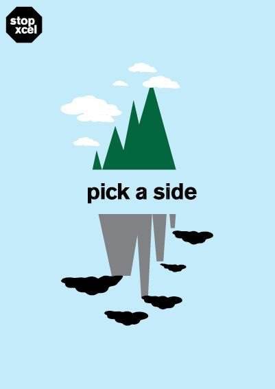 INSTA Pick A Side Graphic Eco Fashion