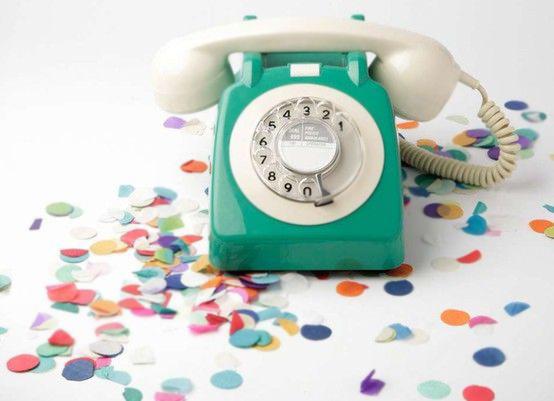Retro Vintage Antique Phone