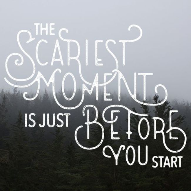 Scariest Moment Quote