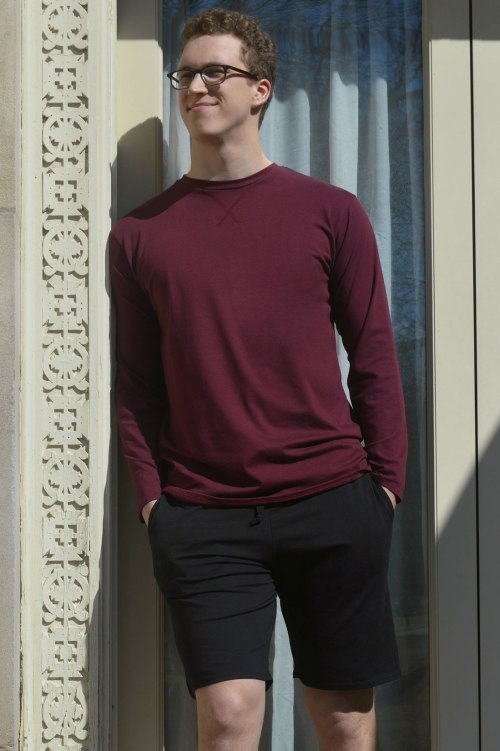 The-Lorenzo-Long-Sleeve-Tee-Shirt_Zinfandel_The-Marco-Short_Black_Lifestyle_Small-Web