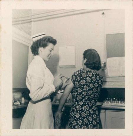 Caprio Mom Nurse Giving Shot.JPG