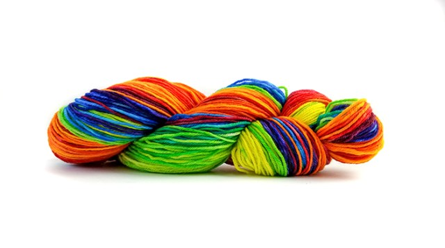 Long Gradient Yarn Dyeing