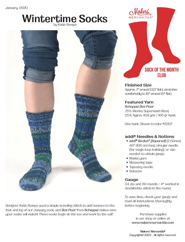 Wintertime Socks
