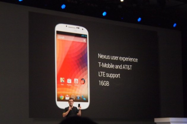 Samsung Galaxy S4 version Google