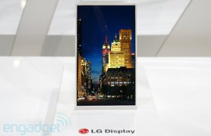 écran LG avec bord de moins de 1 mm