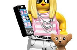 Minifigures Lego la fille branchée