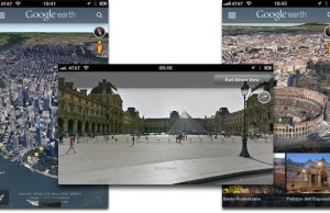 application Google Earth pour iPhone