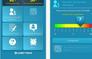 application mobile allergie