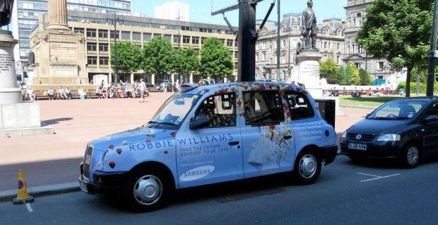 Samsung décore les taxis Londoniens