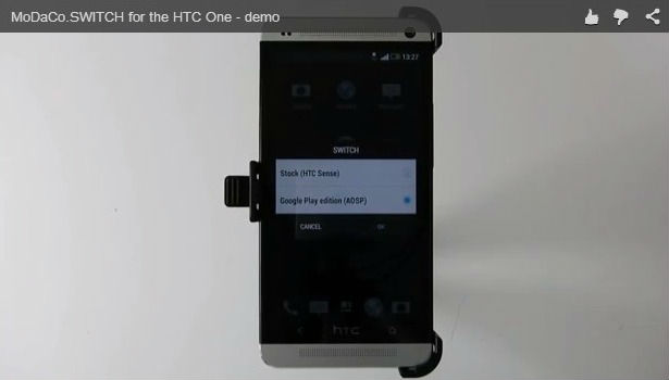 application SWITCH pour HTC One