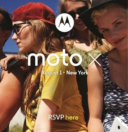 inivitation événement presse lancement du Moto X