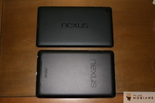 Nouvelle tablette Nexus 7 2 version 2013 en haut