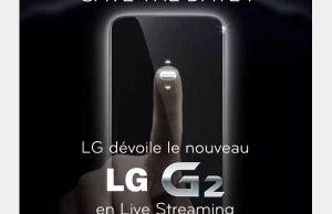 Présentation officielle du nouveau LG G2 depuis New York