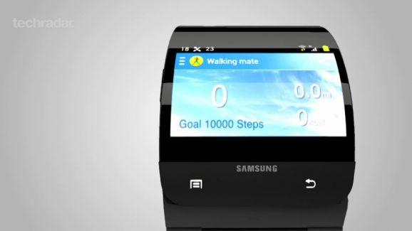 concept de Samsung Galaxy Gear