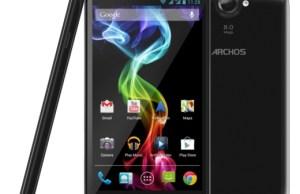 archos 53 platinium, le smartphone avec écran 5,3 pouces
