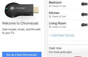 application Chromecast pour iOS
