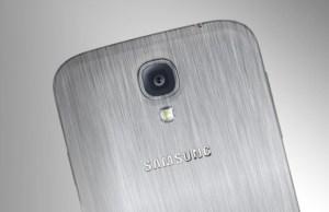 Samsung Galaxy F avec chassis métallique