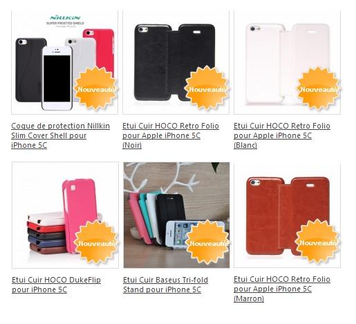 accessoires pour iPhone 5C