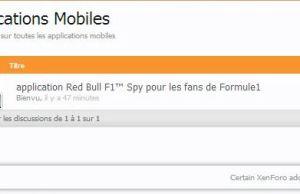 forum applications mobiles