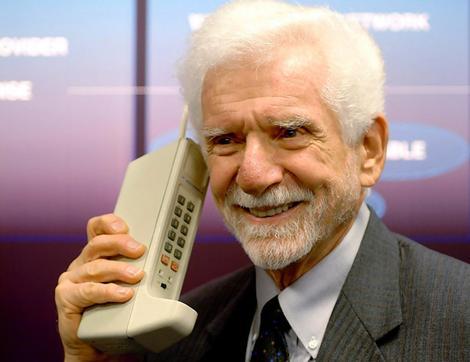 Martin Cooper, inventeur du téléphone mobile