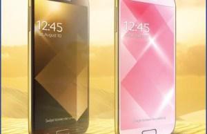 Samsung Galaxy S4 version Gold