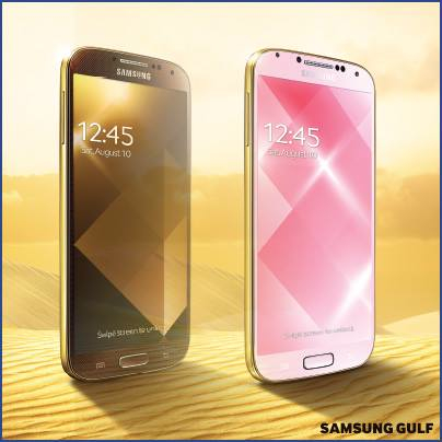 Samsung Galaxy S4 version Gold
