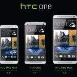 La gamme HTC One