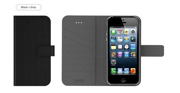 étui cuir pour iPhone 5 / 5S