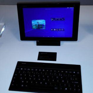 Tablette Xperia Z2 avec clavier adapté