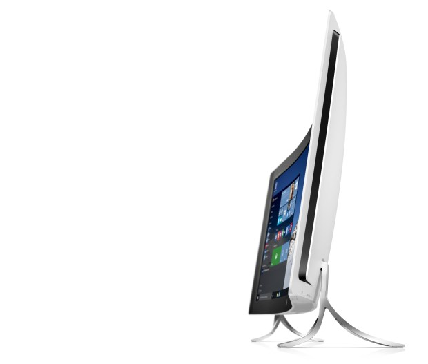 HP ENVY Curved All-in-One_left facing profile