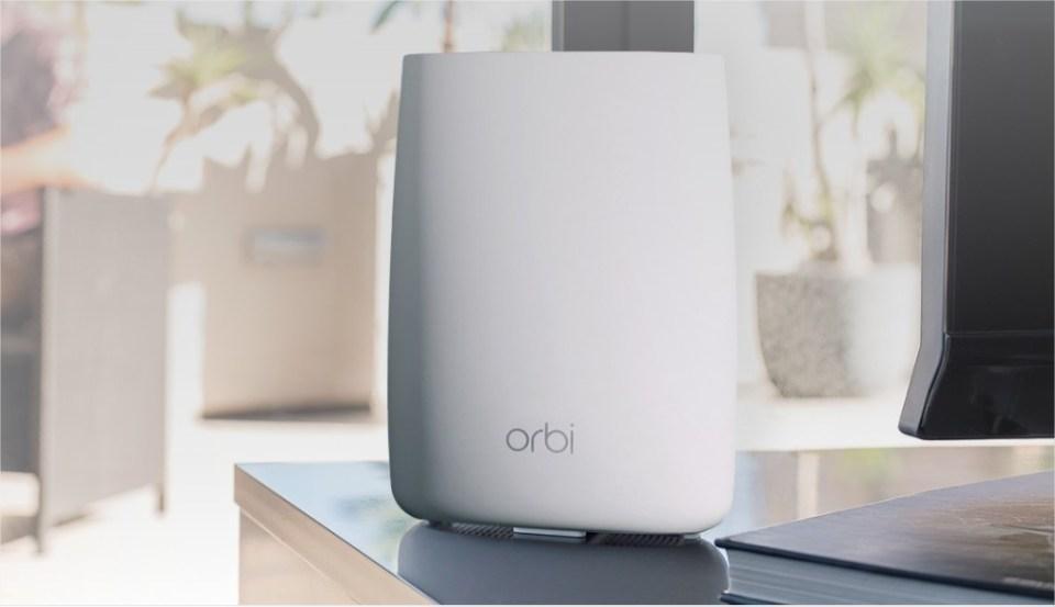 Orbi un système Wifi pour une connexion de meilleure qualité, partout NETGEAR – Google Chrome
