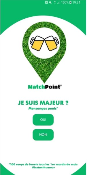 MatchPoint' – Applications sur GooglePlay - Google Chrome