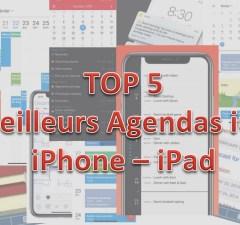 TOP 5 agendas iOS iPhone iPad