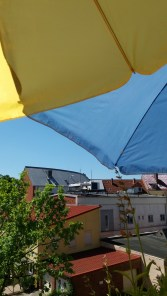 sunny balcony...