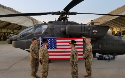 Apache Maintenance Crew from Fort Hood Gets Boost from OSD in Iraq