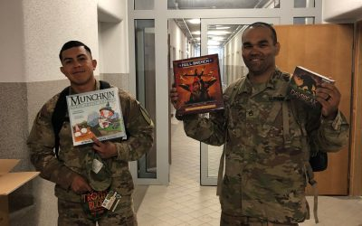 OSD 'Supply Drop' Stocks a Limited MWR for 91st Engineer Battalion out of Fort Hood
