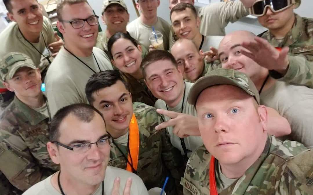 OSD 'Supply Drop' Reaches 455th Air Expeditionary Aircraft Maintenance Squadron from Dyess Air Force Base