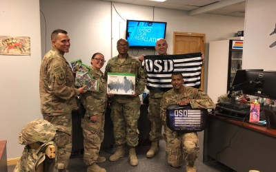 455th Expeditionary Maintenance Group In Need of Entertainment Gets OSD 'Supply Drop'