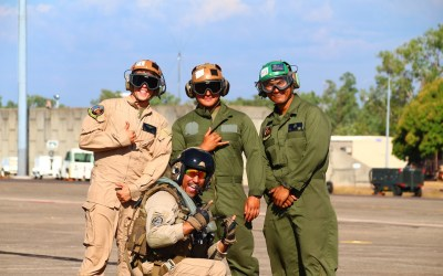 OSD Supply Drop Helps Marines Deployed from Marine Corps Base Hawaii Set up MWR in the Pacific