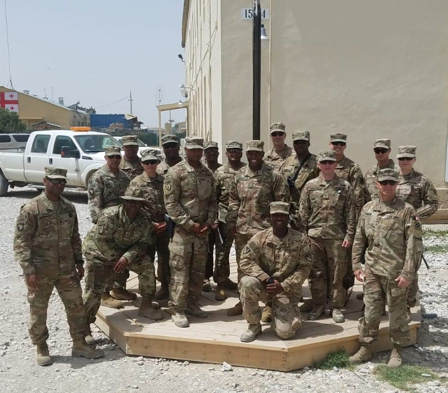 20th Engineer Battalion from Fort Hood Get the Morale Boost