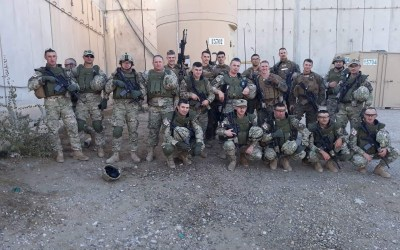 Marines from GDP RSM ROTO 8 Get Much Needed Morale Boost from OSD Supply Drop